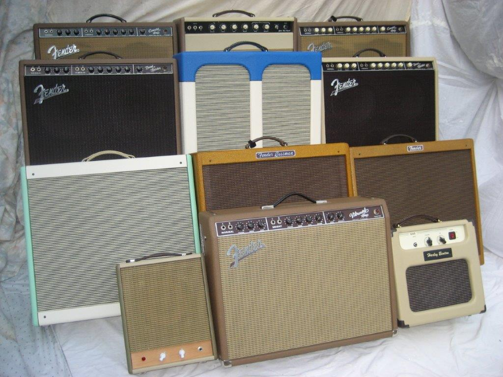 Tim's classic amps collection